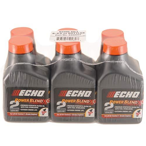 Echo 6450001 Power Blend 1 Gallon Oil Mix (50:1) 6 Pack