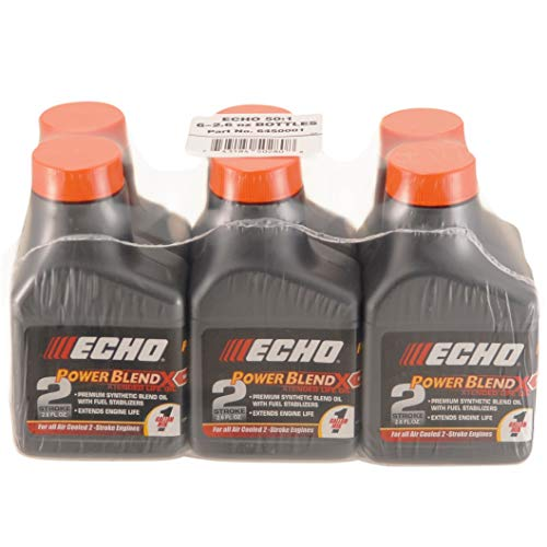 Echo 6450001 Power Blend 1 Gallon Oil Mix (50:1) 6 Pack