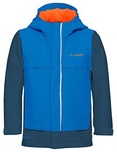 VAUDE Kinder Jacke Racoon V, Wetterschutze, radiate blue, 146/152, 409749461520