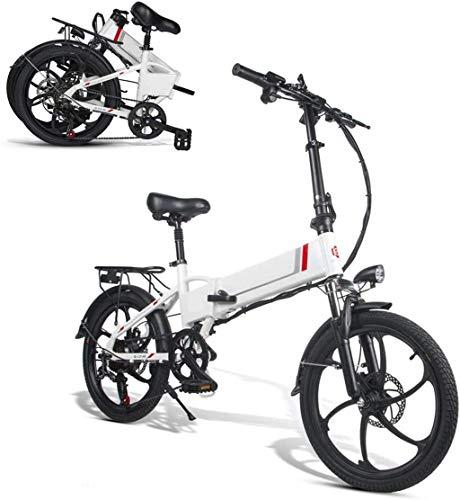 20inch bicicleta eléctrica, plegable bicicleta eléctrica for adultos 350W 48V Motor urbana...