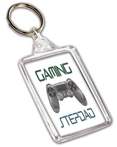 Schlüsselanhänger mit Gaming-Playstation-Controller-Motiv, Geburtstag, Vatertag, Weihnachten, Geschenk für einen Stiefvater