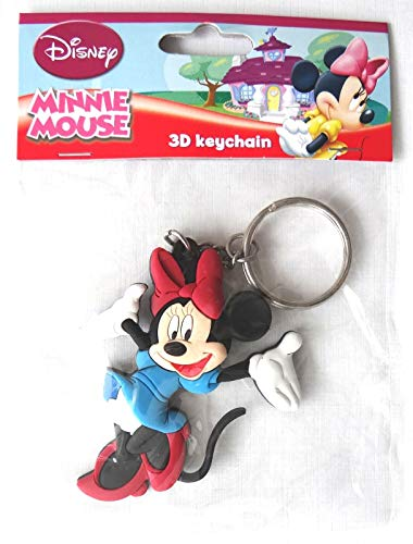 Disney Minnie Mouse Porte Clé 3D Minnie