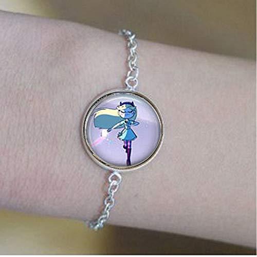 bab Mariposa de estrella y logotipo Pendientes pulseras