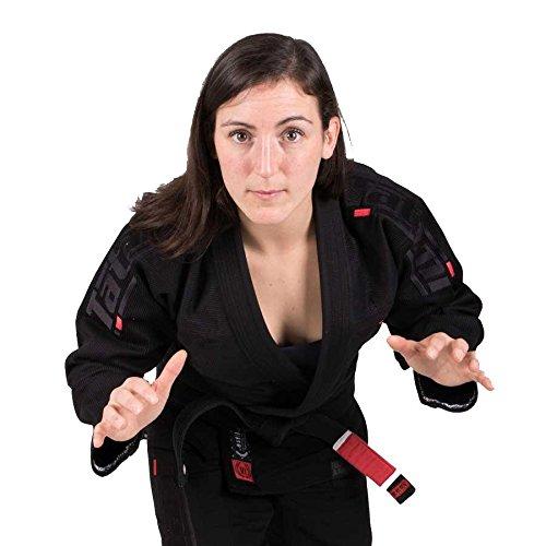 Tatami Fightwear - Kimono para Mujer Estilo 6.0 BJJ, Color Negro, Talla F1L