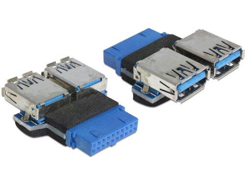 DeLock USB 3.0 Pinhead auf 2X USB 3.0 Adapter