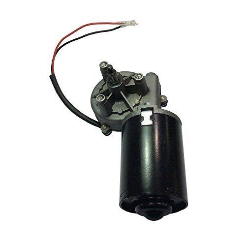 BEMONOC Garage Door Motor 12V DC Right Angle Reversible Electric Gear Motor 45 RPM High Torque