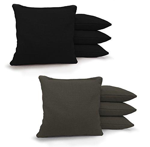 Johnson Enterprises, LLC 8 Standard Corn Filled Regulation Duck Cloth Cornhole Bags 17 Colors...