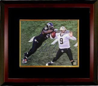 Ranking TOP20 Authentic Autographed Time sale Terrell Suggs Baltimore 16x20 Frame Deluxe