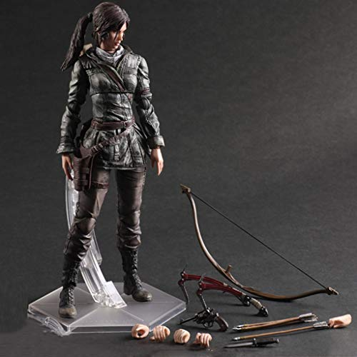 POIUYT Actionfigur Tomb Raider Rise Laura Joint Bewegliches Charaktermodell