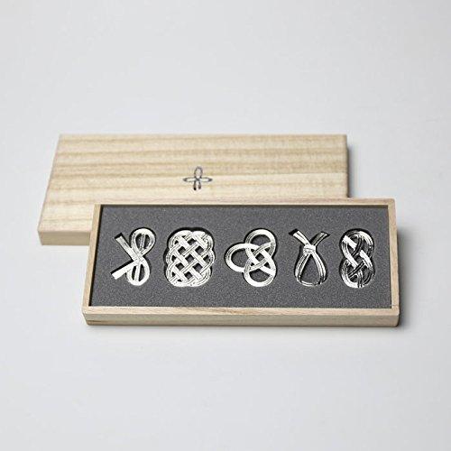 能作『箸置き 結び 5ケ入(501712)』