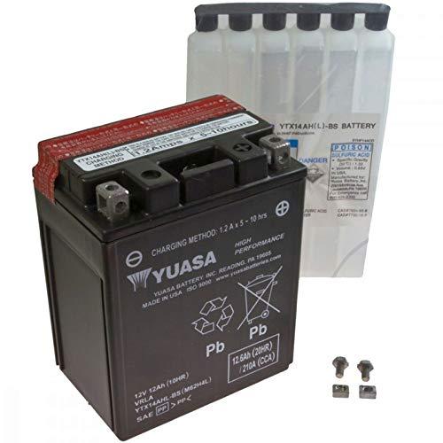 AGM Batterie Moto Guzzi Nevada 750I.E. CL. 09–11YUASA ytx14ahl BS Dry