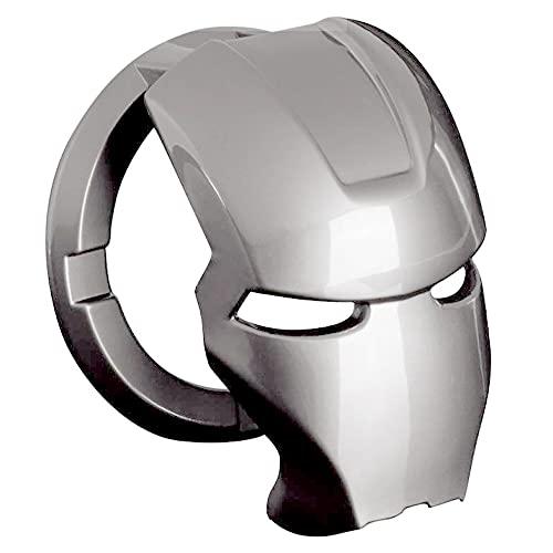 Botón de Arranque Iron Man, Speyang Start Stop Coche Iron Man, Cubierta Boton Arranque, Start Stop Cover, Cubierta de Encendido, Engine Start Stop Button Cover, Start Stop Tapa, Aleación