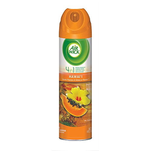 Air Wick Aerosol Spray Air Freshener, National Park Collection, Hawaii, 8 oz (Pack of 12)