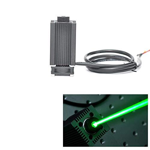 1000mw Adjustable High Power Verde Láser Dot Módulo 520nm 1W con Adaptador/DIY 3D Print Láser Grabado