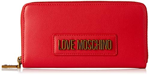 Love Moschino Jc5627pp0a, Cartera. para Mujer, Rojo (Red), 2x10x20 Centimeters (W x H x L)