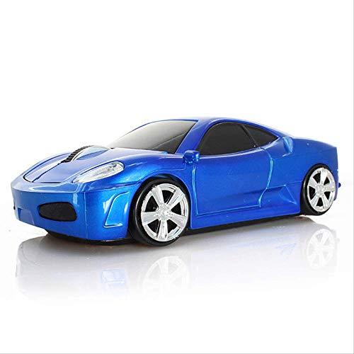 Creativo inalámbrico Ferrari Deporte Coche ratón niños Regalo fotoeléctrico ratón Coche