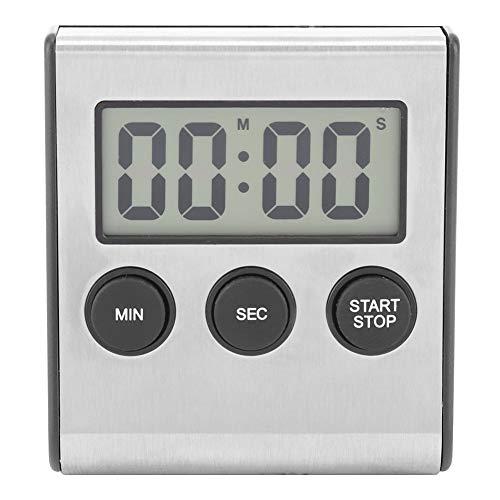 VIFERR Digitale Timer, Keuken Timer Desktop Muur Gemonteerd Timer Alarm Klok Met Luid Alarm Grote Cijfer voor Keuken Koken Kid Leraar BBQ Gym