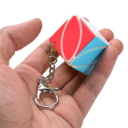 Ykun Pequeño Llavero de Tercer Orden, Llavero de Tercer Orden de Cubo de Rubik-Color de la Hoja de Arce