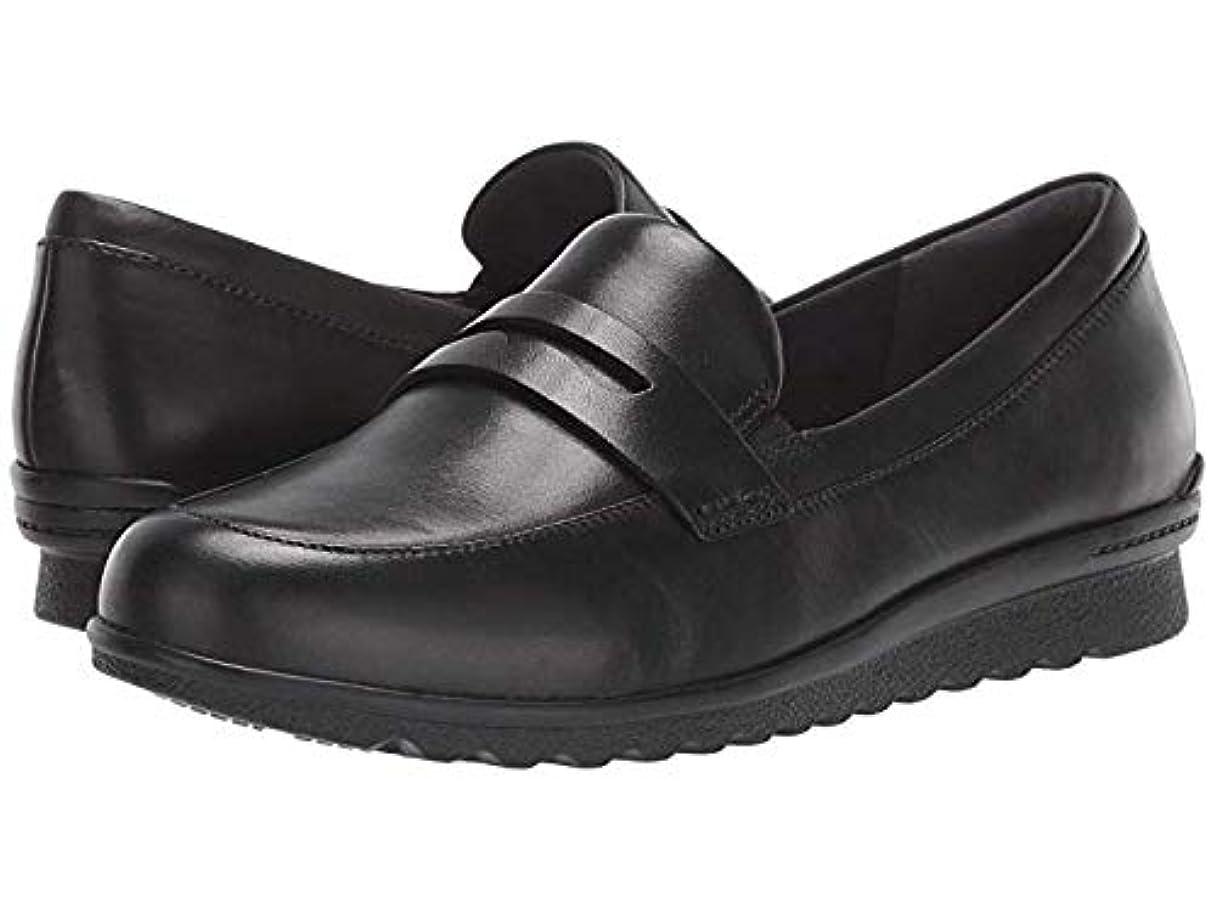 語離婚展示会[ARAVON(アラヴォン)] レディースローファー?靴 Josie Penny Black (29.5cm) M (B) [並行輸入品]