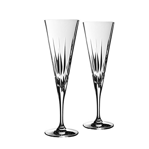 Vera Wang Wedgwood Peplum Set of 2 Toasting Flutes