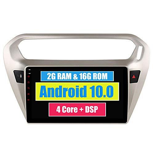 RoverOne Android 7.1 Système Autoradio Lecteur Pour Peugeot 301 Pour Citroën Elysée avec Autoradio Stéréo GPS Navigation Bluetooth HDMI MirrorLink Quad Core Système Multimédia