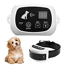 Pet Containment System for 1 Dog and Pets with Waterproof and Rechargeable Dogs Training Collar Receiver Boundary