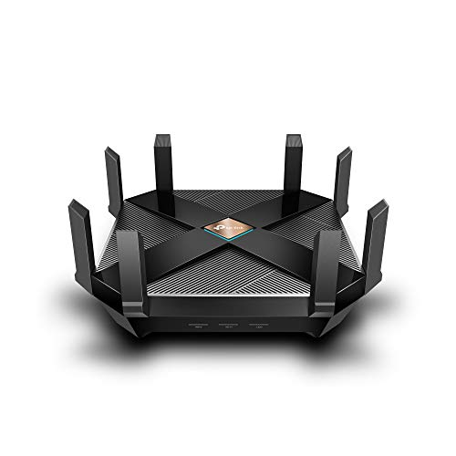 TP-Link AX6000 8-Stream Wired Gaming Router WiFi 6 With 2.5G WAN Port, 8 Gigabit LAN Ports (Archer AX6000)