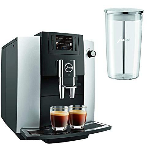 Jura 15070 E6 Automatic Coffee Center, Platinum with Milk Container
