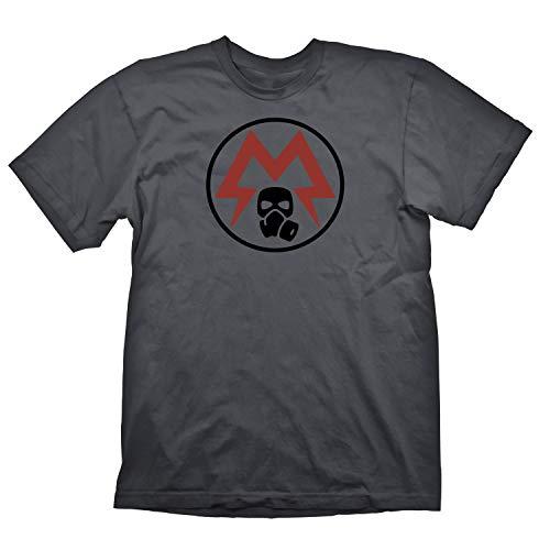 Metro Exodus T-Shirt Spartan Logo Grey Size XL