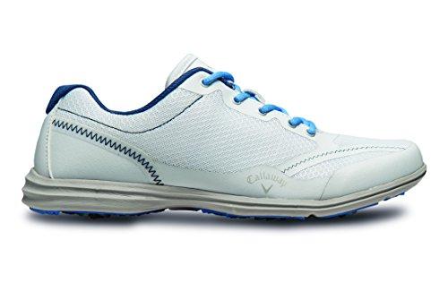 Callaway Callaway Solaire II Damen Golf-Schuhe, Damen, Solaire II, Weiß, Marineblau, Blau, 37 (W)