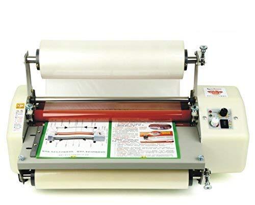 8350T lamineermachine voor 335 mm A3+, 4 rollen 220 V.