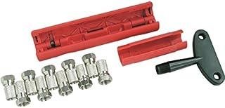 Schwaiger ABISET30531 - coaxiale stekker (F-type, zwart, rood, zilver, kijkverpakking, 10 stuks())