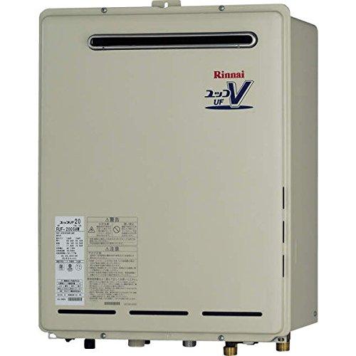 リンナイRinnai 追い炊きガス給湯器20号 RUF-205SAW(A) 壁掛型オート 給湯・給水接続20A プロパンガス仕様(LPG) マルチリモコンセット付(MBC-155V)