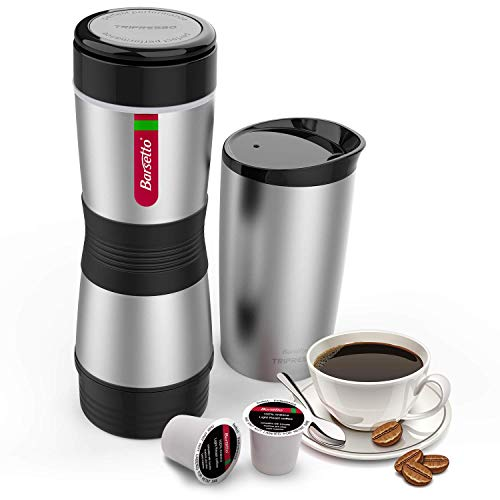 Espresso Machine, Coffee Maker Stainless Steel Coffee Brewer for Latte