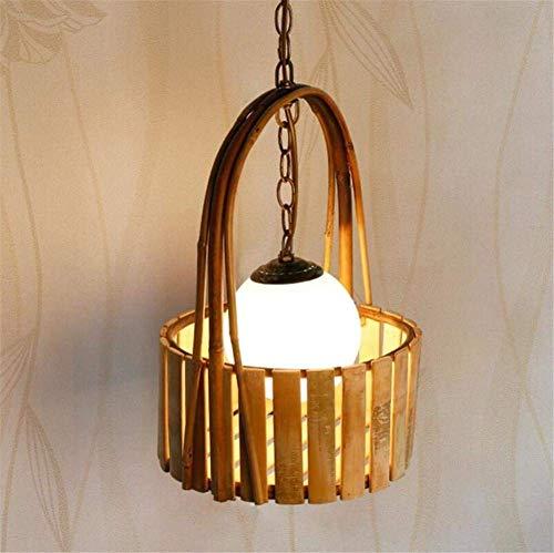 SGWH ® Moderne kandelaar voor caravans, woonkamer, lounge, hal, artistieke kubus, lampen van bamboe, onzichtbaar, 220 V (kleur: - Maat: -)