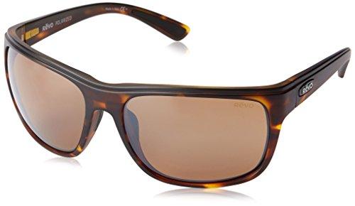 Revo Herren Sonnenbrille Gr. 62 mm, Matte Tort/Terra