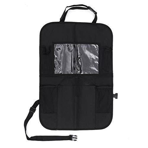 YONGYAO Asiento de Coche Respaldo Bolsa Organizador con Soporte para Tableta con Pantalla Táctil - 2