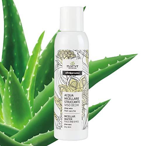 Natyr Mizellenwasser mit Aloe Vera 125 ml - Reinigung, Klärung und Pflege von empfindlicher Haut