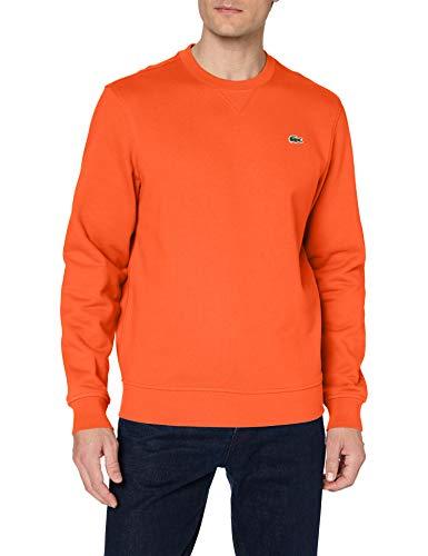 Lacoste Herren SH1505 Sweatshirt, Orange, 5