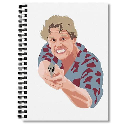 Spiral Notebook Gary Journal Busey Notepad Composition Planner Journaling Notebooks Wide Ruled Hexagon Paper Comic Book Bills Tracker