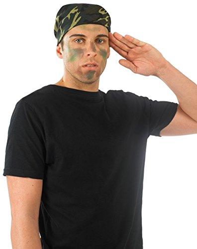 Bandana camouflage militaire pour adulte. Ideal pour se fondre dans la forêt.