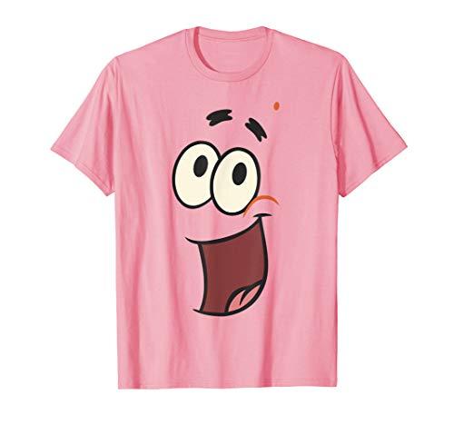 SpongeBob SquarePants Patrick Starfish Big Face T-Shirt