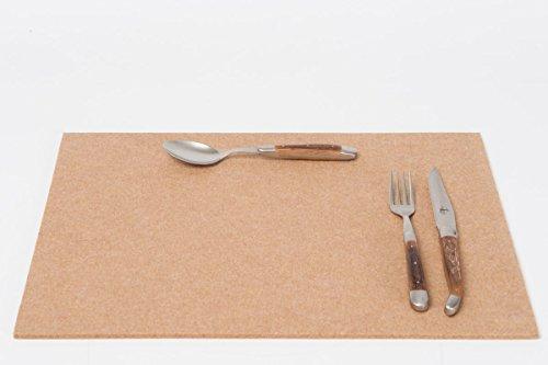 daff Filz Tischset, Set aus Filz 33 x 45 cm Sahara meliert