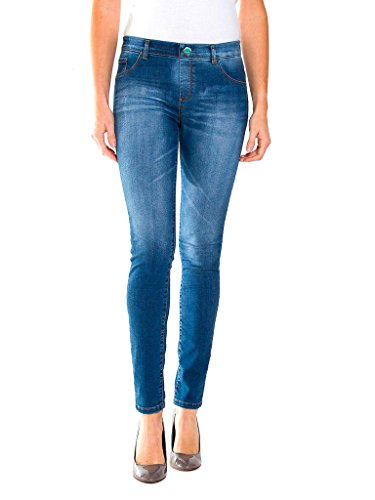 Carrera Jeans - Jeggings per Donna, Look Denim, Trattamento con Aloe Vera IT S