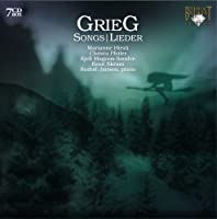 Grieg: Songs / Lieder [Complete] by Marianne Hirsti (2009-04-10)