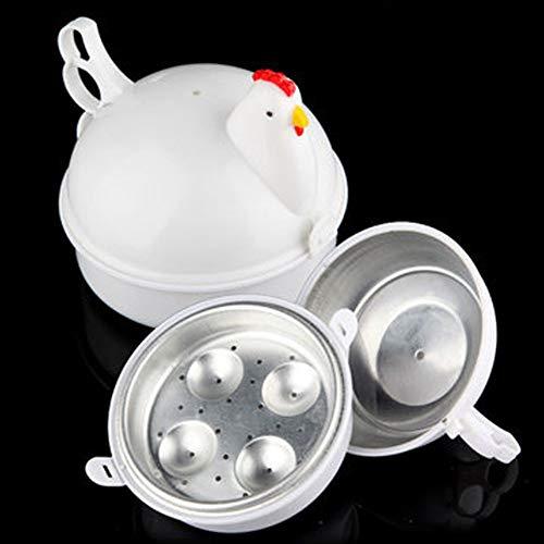 Mikrowelle Elektrisch Boiler Herd Pochierer Weich oder Hart Dampf Schnell Steaner Huhn Form Küche Kochen Werkzeug