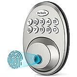 Fingerprint Deadbolt Door Lock, HuTools...