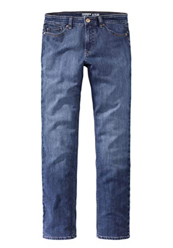 Paddocks`s Herren Jeans Ranger Pipe - Tight Fit - Blau - Blue Stone + Soft Use, Größe:W 34 L 36, Farbauswahl:Blue Stone + Soft Use (5602)