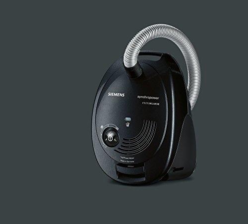 Siemens VS06M312 Aspirateur traîneau Noir