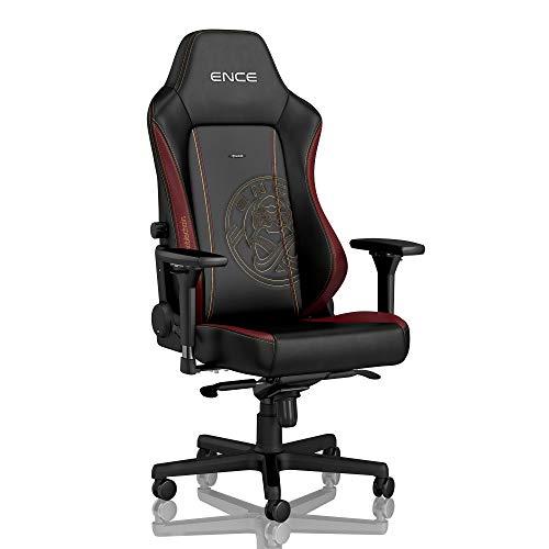 noblechairs Hero Sedia da Gaming - Sedia da ufficio - Sedia da scrivania - Ecopelle PU - 150 kg - 135° Reclinabile - Edizione ENCE
